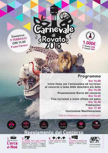 Carnevale Rovato 2018
