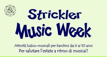 STRIKLER MUSIC WEEK