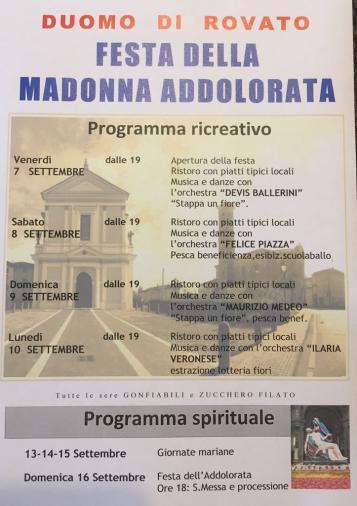 Duomo Rovato Festa