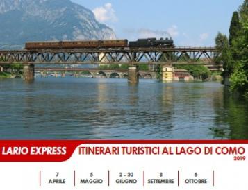 LARIO EXPRESS - ITINERARI TURISTICI AL LAGO DI COMO