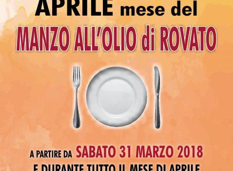 Manzo Olio Rovato Aprile 2018