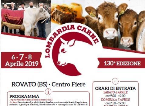 6-7-8 APRILE - FIERA LOMBARDIA CARNE 2019