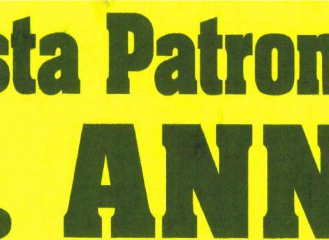 FESTA PATRONALE S. ANNA