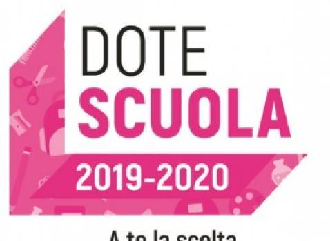 DOTE SCUOLA 2019 - 2020