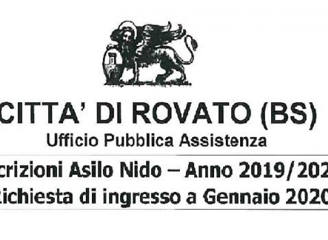 RICHIESTA DI INGRESSO GENNAIO 2020