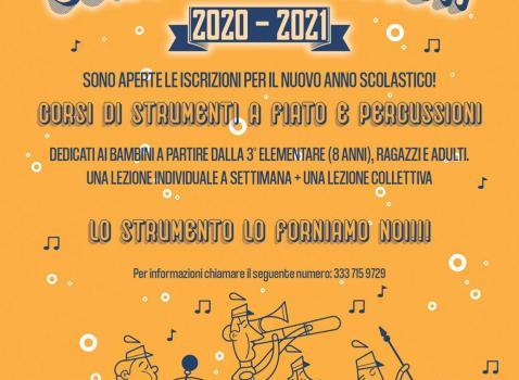 CORSI DI MUSICA 2020 - 2021